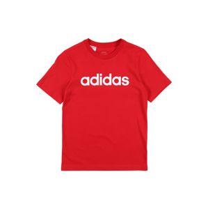 ADIDAS PERFORMANCE Funkcionális felső 'YB E LIN TEE'  piros