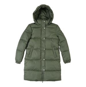 TOMMY HILFIGER Mantel 'RECYCLED EXTRA LONG PUFFER'  zöld