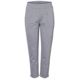 PIECES Élére vasalt nadrágok 'ARIA'  szürke