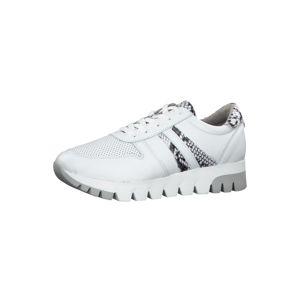 TAMARIS Rövid szárú edzőcipők  fehér / szürke