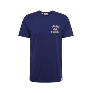 DEUS EX MACHINA Shirt 'YJ Tokyo'  fehér / tengerészkék