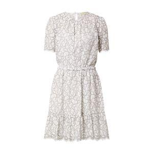 MICHAEL Michael Kors Nyári ruhák 'Flounce'  fehér / fekete