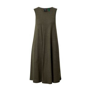 G-Star RAW Ruha 'Tank dress a-line r wmn sls'  zöld