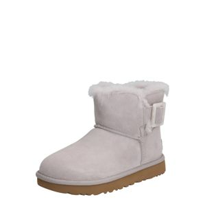 UGG Csizma 'MINI BAILEY FASHION BUCKLE'  világosszürke
