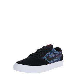 Nike SB Rövid szárú edzőcipők 'Chron Solarsoft Premium'  sötétkék / fekete