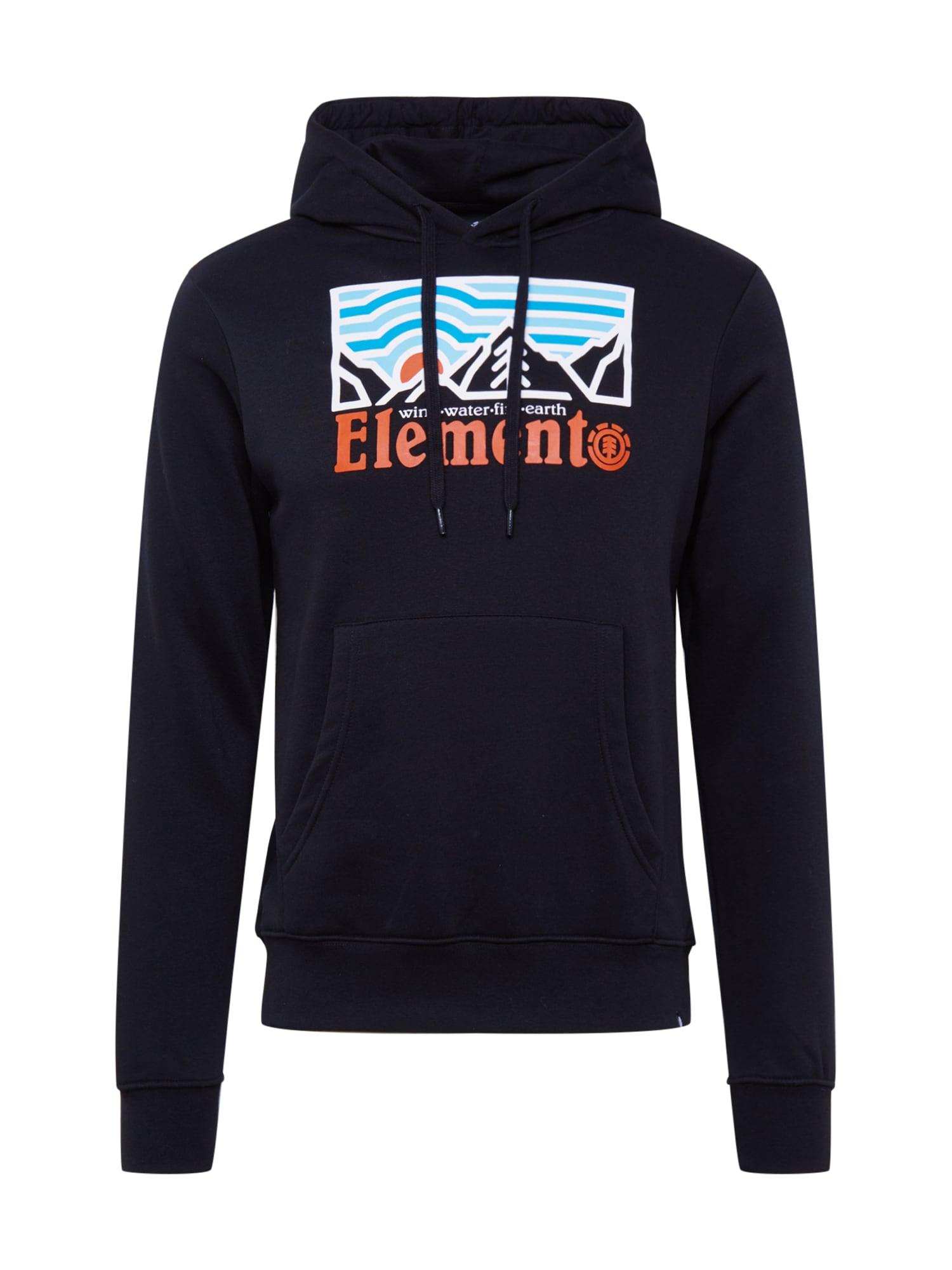 ELEMENT Tréning póló  fekete