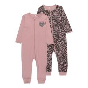 NAME IT Ruhák alváshoz  barna / rózsaszín