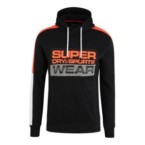 Superdry Sport szabadidős felsők  fehér / fekete / narancs