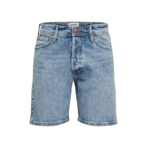 JACK & JONES Jeans 'JJICHRIS JJORG SHORTS AM 957 PCW STS'  kék farmer