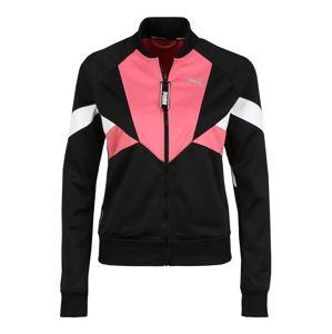PUMA Sportdzseki  rózsaszín / fekete