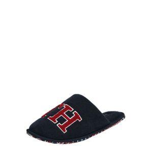 TOMMY HILFIGER Házi cipő  sötétkék / piros