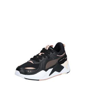 PUMA Rövid szárú edzőcipők 'RS-X Mono Metal'  fekete / rózsaszín