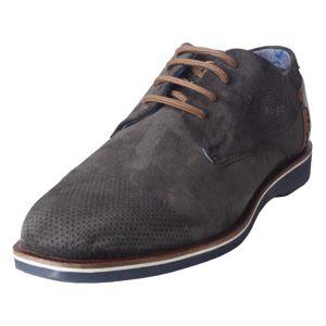 Bugatti Fűzős cipő 'Melchiore'  sötétszürke