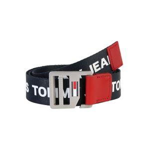 Tommy Jeans Övek 'Dring Belt 3.5'  fehér / piros / sötétkék