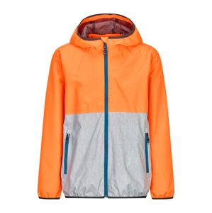 KILLTEC Kültéri kabátok 'HAIGO COLOURBLOCK JR'  türkiz / narancs / ezüst