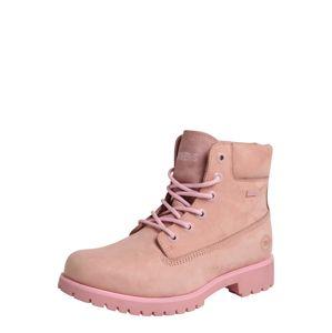 Dockers By Gerli Fűzős csizmák  rózsaszín