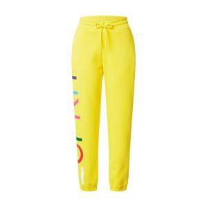 ESPRIT Nadrág  sárga / vegyes színek