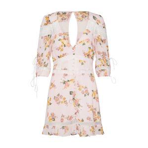 For Love & Lemons Nyári ruhák 'ISADORA MINI DRESS'  rózsaszín