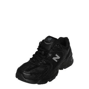 new balance Rövid szárú edzőcipők  világosszürke / fekete