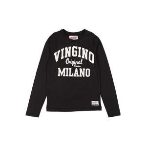 VINGINO Póló 'Jerny'  fekete / fehér