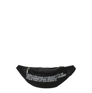 Calvin Klein Jeans Övtáska 'Streetpack'  fekete / fehér