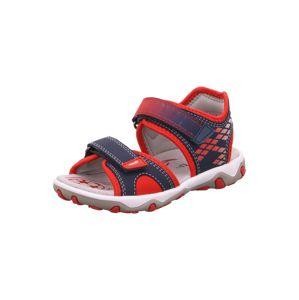 SUPERFIT Nyitott cipők 'Mike'  kék / piros