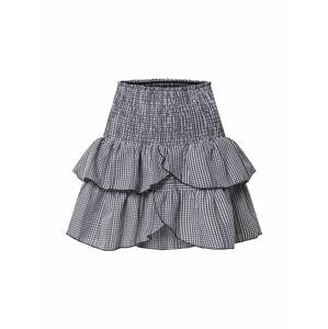 Neo Noir Szoknyák 'Carin Mini Check Skirt (part of group)'  fekete