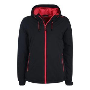 CMP Kültéri kabátok 'FIX HOOD'  antracit / rózsaszín