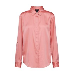 DKNY Blúz 'ROLL HIDDEN PLACKET'  rózsaszín
