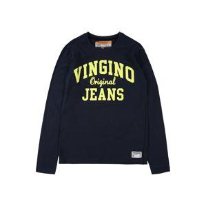 VINGINO Tréning póló 'Heffity'  neonsárga / tengerészkék