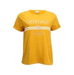 ONLY Carmakoma Shirt  'LENA'  mustár
