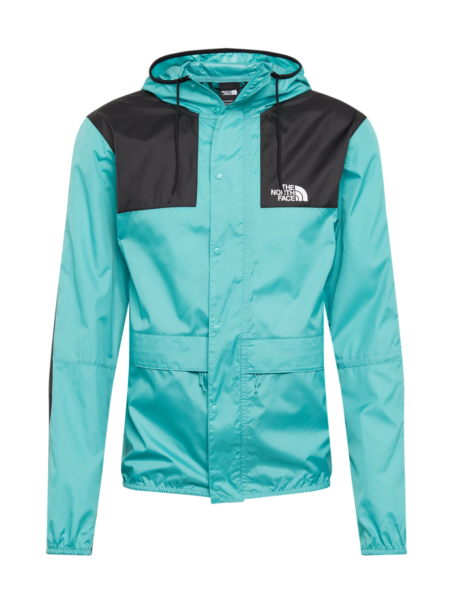 THE NORTH FACE Átmeneti dzseki 'Mountain 1985'  fekete / türkiz