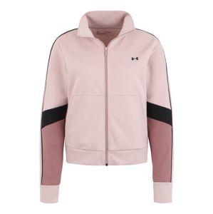 UNDER ARMOUR Sport szabadidős dzsekik  rózsaszín / bogyó