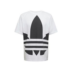 ADIDAS ORIGINALS Póló 'BG TREFOIL'  fekete / fehér