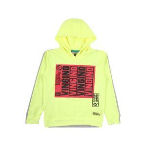 VINGINO Tréning póló 'Nubbel'  fekete / neonsárga / pitaja / szürke