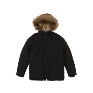 Jack & Jones Junior Jacke 'EXPLORE'  fekete
